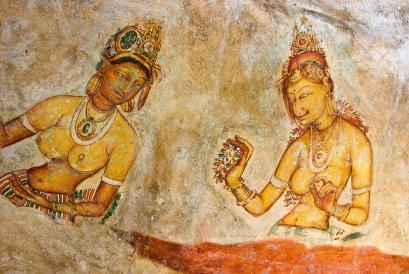 sigiriya-frescos-in-sri-lanka